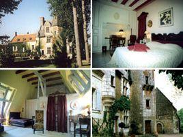 Chambres d'hôtes de charme , Prieuré de la Chaise, saint georges sur cher 41400