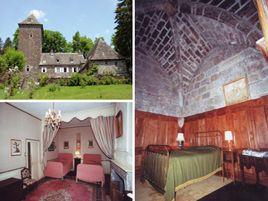 Chambres d'hôtes de charme , Château de Lescure, saint martin sous vigouroux 15230