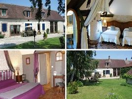 Chambres d'hôtes de charme , A La Métairie, lindry 89240