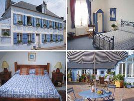 Chambres d'hôtes de charme , La Maison bleue en baie, crotoy 80550