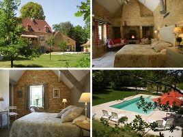 Chambres d'hôtes de charme , La Roche d'Esteil, sainte nathalene 24200
