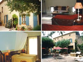 Chambres d'hôtes de charme , Maison d'Hôtes Vic, castillon du gard 30210