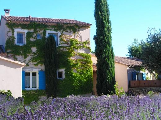 Chambres d'hôtes de charme , Le Clos des Lavandes, lacoste 84480