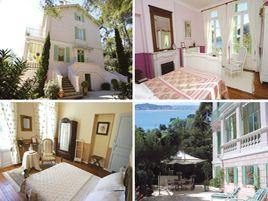 Chambres d'hôtes de charme , Villa Héliotropes, seyne sur mer 83500