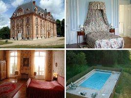 Chambres d'hôtes de charme , Château Le Corvier, vouzon 41600