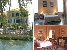 Chambres d'hôtes de charme , Les Volets Bleus, salleles d aude 11590