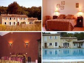 Chambres d'hôtes de charme , Mas de Lure, salon de provence 13300