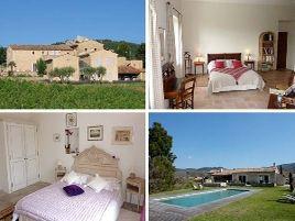 Chambres d'hôtes de charme , Le Mas del Sol, bonnieux 84480