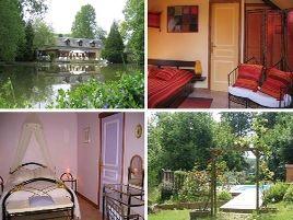 Chambres d'hôtes de charme , Le Moulin Calme, luceau 72500
