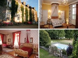 Chambres d'hôtes de charme , Château de Montaupin, oize 72330