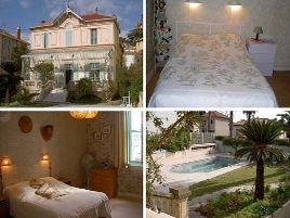 Chambres d'hôtes de charme , Bagatelle, hyeres 83400