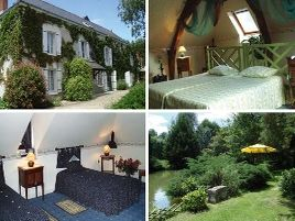 Chambres d'hôtes de charme , Le Moulin de la Follaine, azay sur indre 37310
