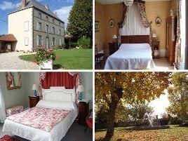 Chambres d'hôtes de charme , La Rambaude, beauregard vendon 63460