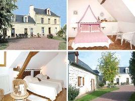 Chambres d'hôtes de charme , La Thibaudière, allonnes 49650