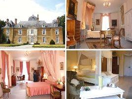 Chambres d'hôtes de charme , Château de Bois Glaume, poligne 35320