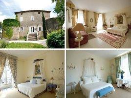 Chambres d'hôtes de charme , Le Castel du Mont Boisé, montboucher sur jabron 26740