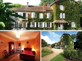 Chambres d'hôtes de charme , Manoir du Breuil, pierrefitte sur loire 03470