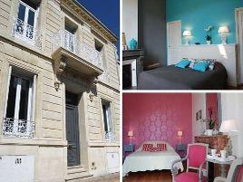 Chambres d'hôtes de charme , Les Chambres de Camille, bordeaux 33000
