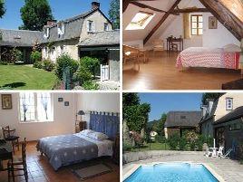 Chambres d'hôtes de charme , La Caminade, bourg de bigorre 65130