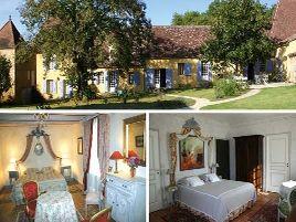 Chambres d'hôtes de charme , Les Hautes Claires, mauzac et grand castang 24150