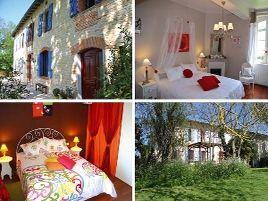 Chambres d'hôtes de charme , Bastide de Servadou, senouillac 81600