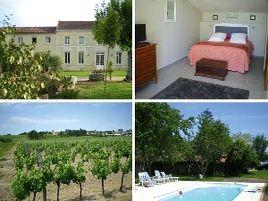 Chambres d'hôtes de charme , Domaine des Tilleuls, marcillac 33860