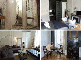 Chambres d'hôtes de charme , Une Nuit au second, lyon  2e  arrondissement 69002