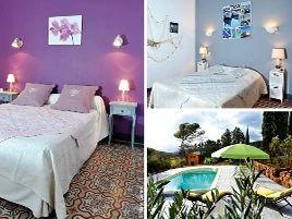 Chambres d'hôtes de charme , Domaine Mamorchidée, quarante 34310