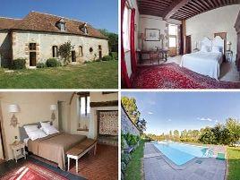 Chambres d'hôtes de charme , Domaine d'Aigrepont, bressolles 03000
