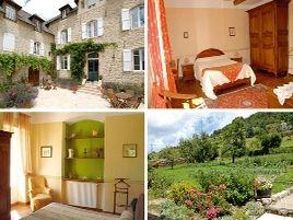 Chambres d'hôtes de charme , Le Clos Saint-Georges, entraygues sur truyere 12140