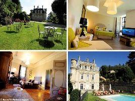 Chambres d'hôtes de charme , Château Clément, vals les bains 07600