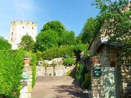 Chambres d'hôtes de charme , Le Cottage du Château, chaudenay le chateau 21360