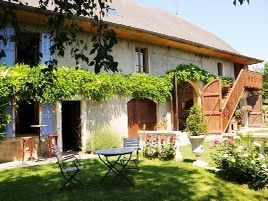 Chambres d'hôtes de charme , La Salicorne, vaulx 74150