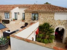 Chambres d'hôtes de charme , Les Terrasses Occitanes, argeliers 11120