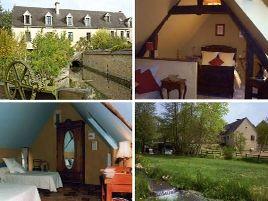 Chambres d'hôtes de charme , Le Moulin de Gémages, belleme 61130