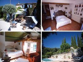 Chambres d'hôtes de charme , La Cyprïado, cadiere d azur 83740